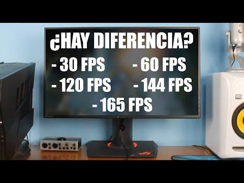 ¿Hay DIFERENCIA entre jugar a 30FPS/60FPS/120FPS/144FPS/165FPS?   Mi opinión, mi experiencia