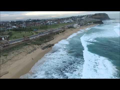 Bar Beach and Anzac Memorial Walk, Newcastle, NSW
