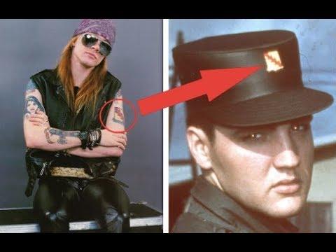 Guns N Roses The True Story Behind Axl Rose S Tattoos
