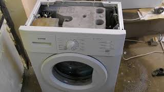 видео Самая узкая стиральная машина