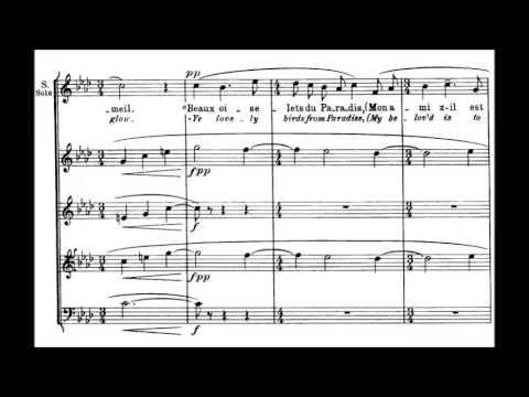 Maurice Ravel - Trois Chansons (1914-15)