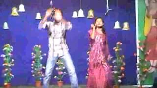 Telugu Hot Girl & Boy Spicy Recording Dance Latest