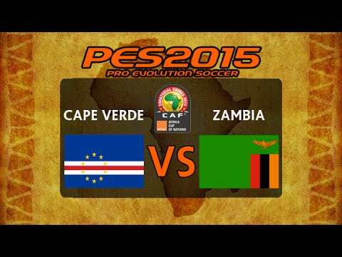 PES 2015 | Cape Verde - Zambia | 2015 Africa Cup Of Nations Group B Matchday 3