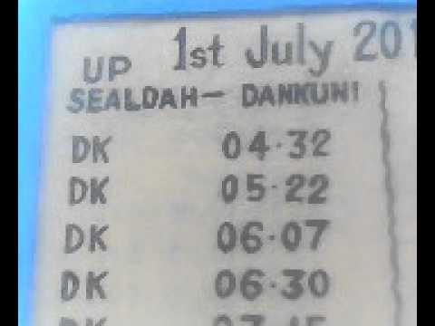 All India Train Time Table Pdf