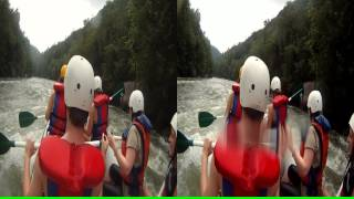 "3D Ocoee River Whitewater Rafting 2 ""Coasting the Rapids"""
