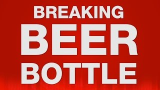 Breaking Beer Bottle SOUND EFFECT - Bierflasche zerbricht SOUND