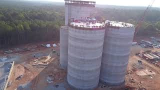Feed Mill Drone Footage 10 1 19