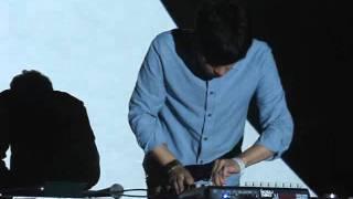 Nosaj Thing - Aquarium + Us + ? (live in Katowice)