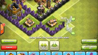 Clash of Clans| Th8 Trolling Base| Freak The Crap Out of Noobs| Speed Build 2015