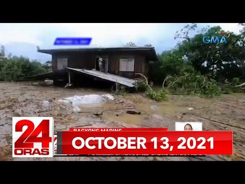 24 Oras Express: October 13, 2021 [HD]