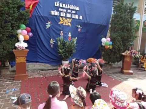 Múa với bạn Tây Nguyên -các bé 5 tuổi -VQS