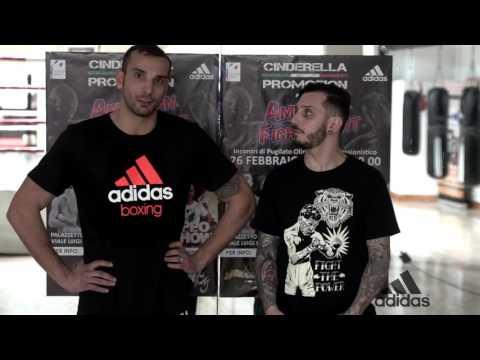 FLAVIO MORRI (Boxer) Interview & Training for American Fight Night 26.02.2017