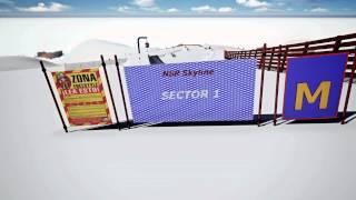 Sulayr Snowpark2013-14. Sierra Nevada (3-D project)