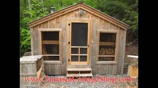 Diy - Build Or Buy This 3 Bedroom 14x26 Camping Cabin - Tiny Home - Cottage Yourself  Pre Cut Kit