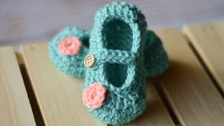 Little Dot Mary Janes Crochet Pattern
