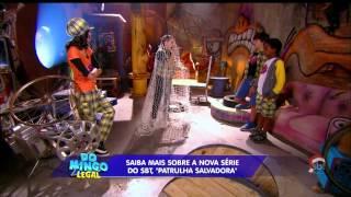 """(HD) Confira imagens da nova série do SBT """"Patrulha Salvadora"""" - Domingo Legal"""