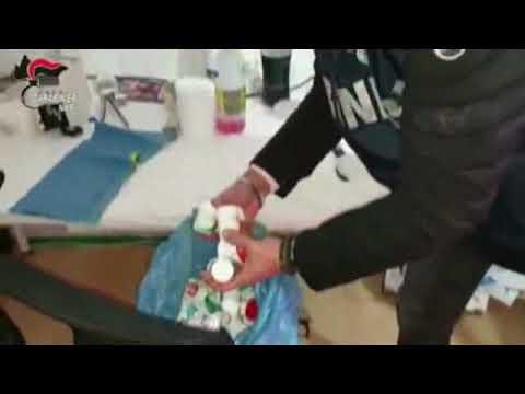 Capaccio, scoperta la centrale clandestina di sostanze dopanti. Arrestati tre incensurati.