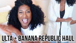Ulta + Banana Republic Haul | 2015 #StyleByNap85