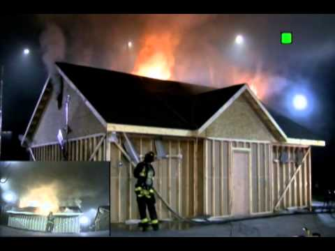 Attic Fire Tactics Eave Attack Vented Youtube