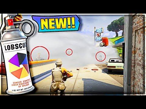 SMOKE GRENADE GAMEPLAY  //  *NEW* Update (Fortnite Battle Royale)