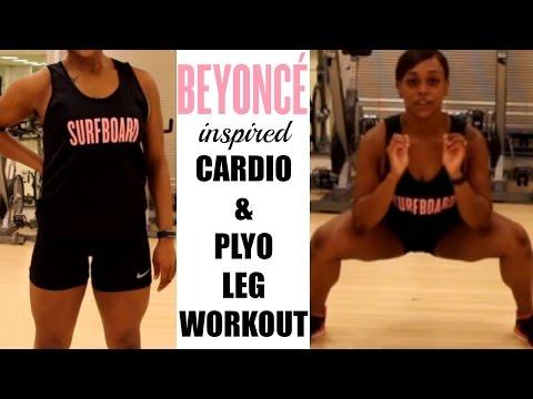 Beyoncé 7/11 Cardio/Plyo Leg Workout