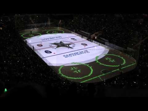 Dallas Stars 2016 Playoff Opening