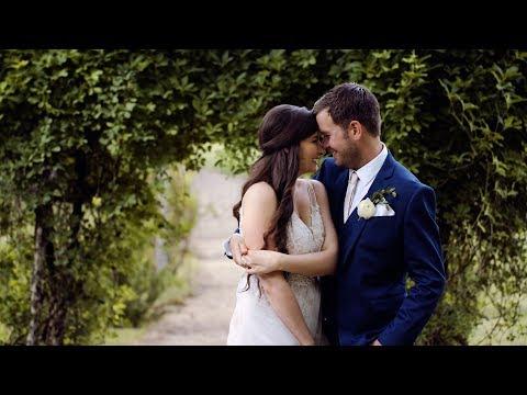 Groom Gives Emotional Vows to Bride // Elegant Outdoor Vineyard Wedding // Jeri & Dean