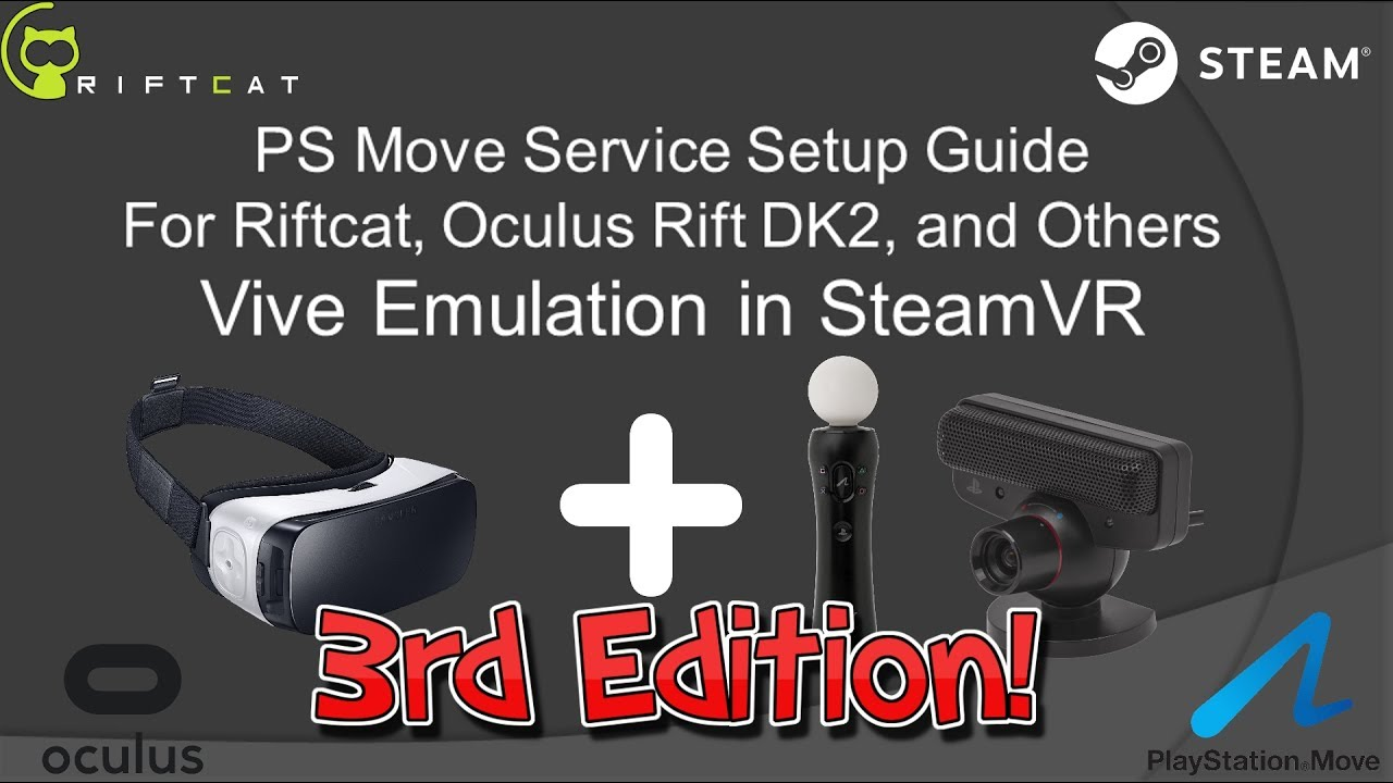 complete vr setup guide for ps move service and riftcat cheap diy rh youtube com Xbox Gaming Setup TV Setup