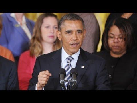 President Obama Takes A Pay Cut