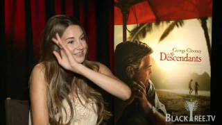 Shailene Woodley interview for The Descendants
