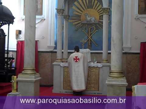 Melkite Greek Catholic Mass in Rio Arabic Chants: Rio Brazil