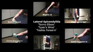 Lateral Epidcondylitis Rehab Exercises