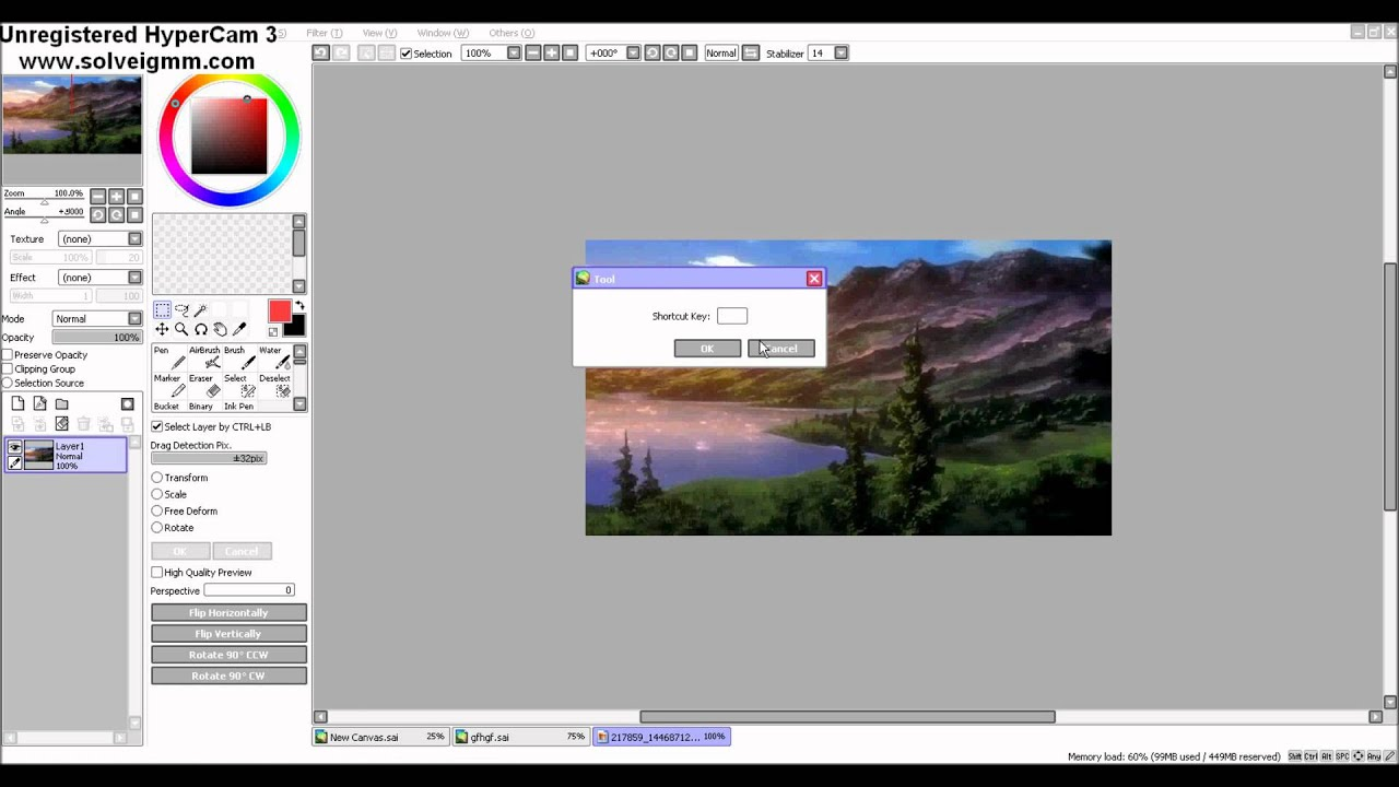 How To Remove White Background In Paint Tool Sai