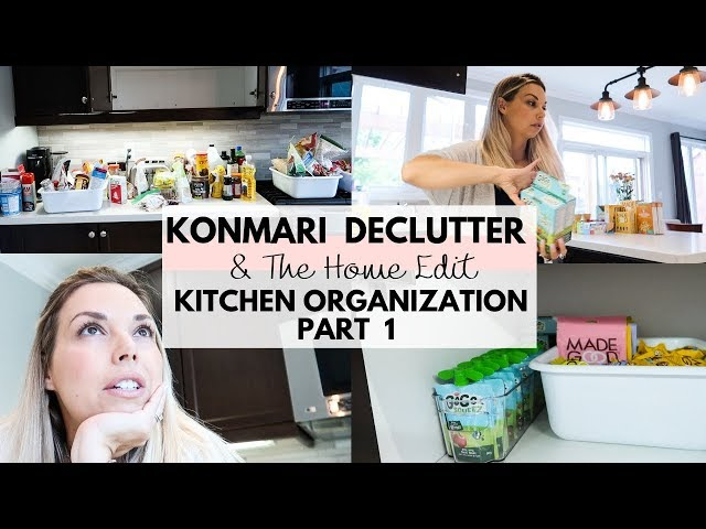 KONMARI Kitchen Declutter | The Home Edit Cupboard Organization | Part 1