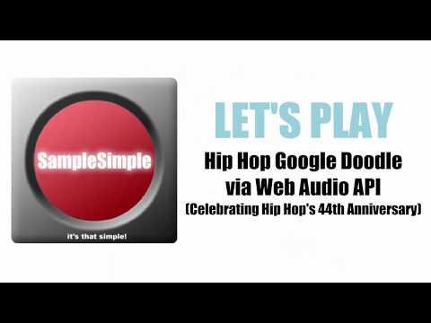 Let's Play eDigging inside Hip Hop Google Doodle (Juggling Samples/Breakbeats in the Web Browser)