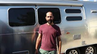 Parkit360 + AIRSTREAM Review (Using the trailer dolly to move an Airstream)