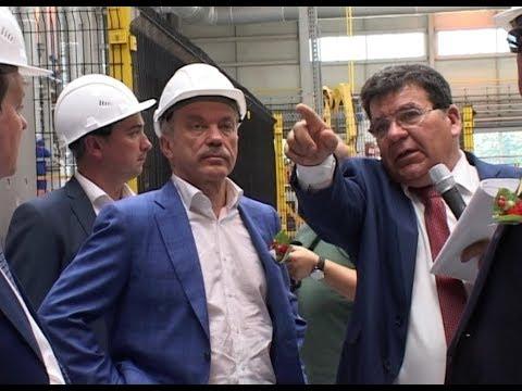 В Красногвардейском районе открыли кирпичный завод