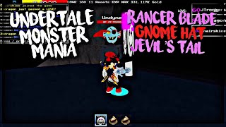 Roblox Undertale Monster Mania: Rancer Blade, Gnome Hat, & Jevil's Tail
