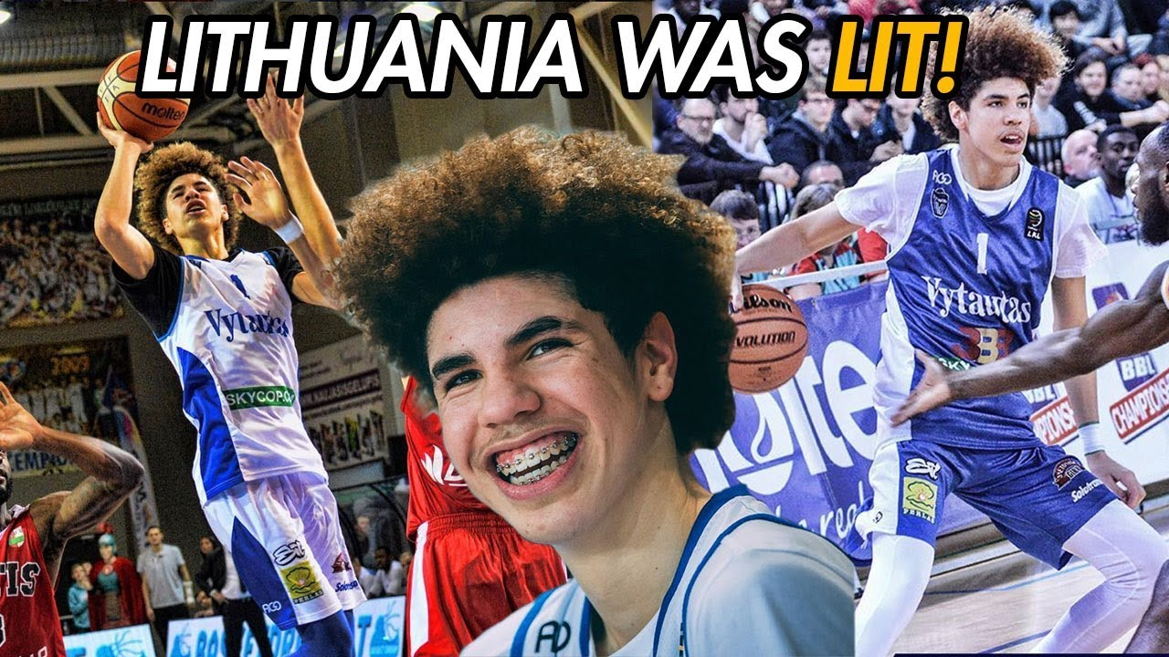 Download LaMelo Ball Career Lithuania Highlights! 16-Year-Old PRO Dominates For Vytautas 🔥