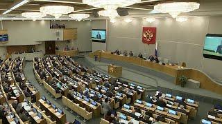 """Вице-премьер Виталий Мутко выступил на """"правительственном часе"""" в Госдуме."""