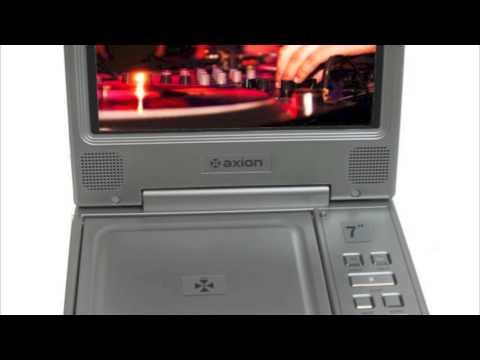 "Axion 7"" LCD DVD/CD/MP3 Player | AXN6072"