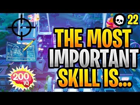 The Most Important Skill In Fortnite: Building vs. Aim vs. IQ! (Fortnite Tips & Tricks - Season 9)
