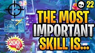 La compétence la plus importante dans Fortnite: Construire vs But vs IQ! (Conseils Fortnite - Astuces - Saison 9)
