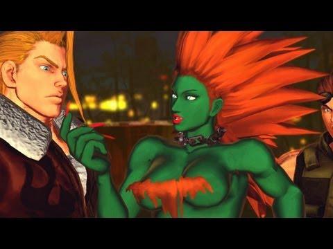 Street Fighter X Tekken - All Street Fighter Rival Cutscenes (PC MODS #2) [1080p] TRUE-HD QUALITY