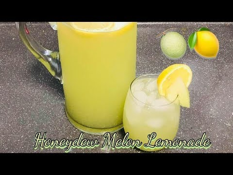Easy Honeydew Melon Lemonade Recipe | HOW TO MAKE HONEYDEW LEMONADE AT HOME
