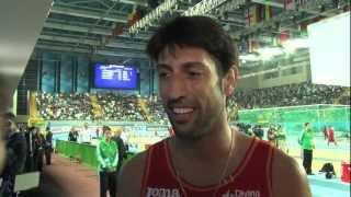 Istanbul 2012 Mixed Zone: Antonio Manuel Reina ESP