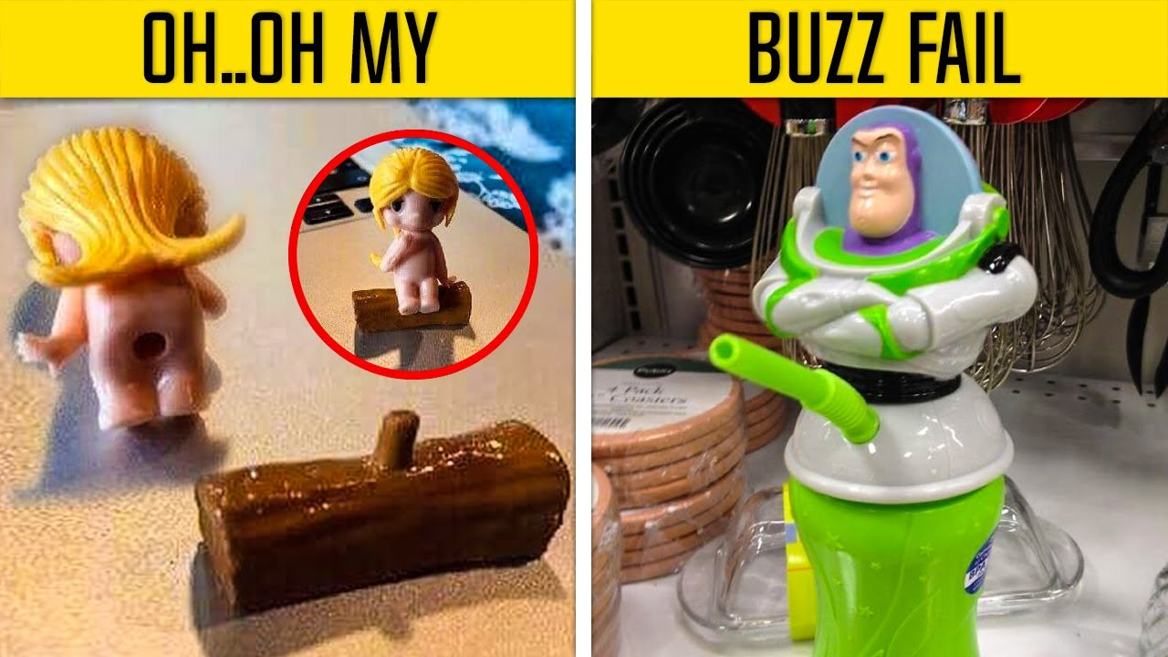 Epic Toy Design Fails That Are So Bad