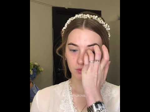 Нежный Свадебный макияж невесты 💍