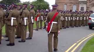 May 2013 Scot Guard Parade in Inverness Part 3