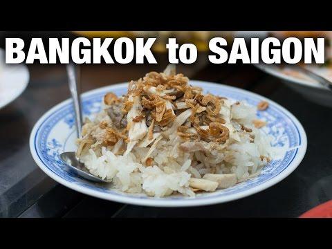 Traveling from Bangkok to Saigon, Vietnam